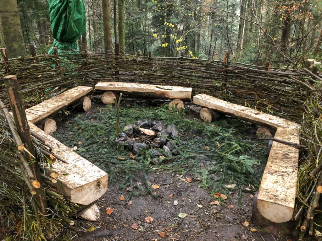 Waldsofa fertig