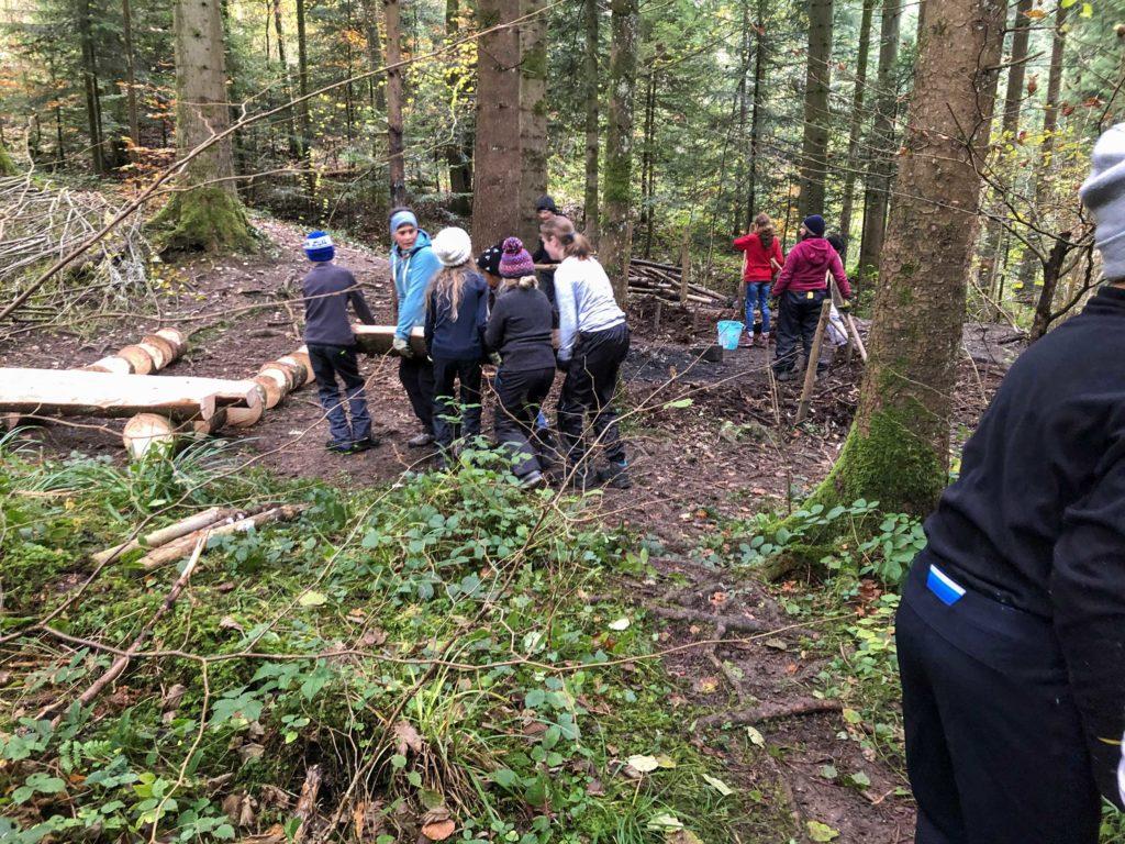 Waldsofa bauen